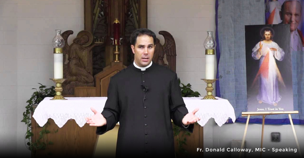 Fr  Donald Calloway Oberammergau Passion Play Pilgrimge with