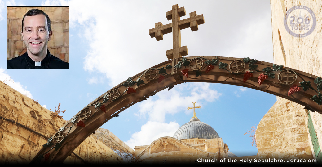 Fr. Vincent Druding Pilgrimage to The Holy Land with & 206 ...