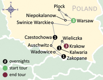 Czestochowa Poland Map.Pilgrimage To Poland With Fr David Kelash 206 Tours