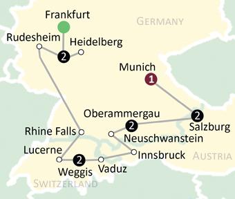 Oberammergau Germany Map.Msgr James Swiader Oberammergau Passion Play Pilgrimage To Germany